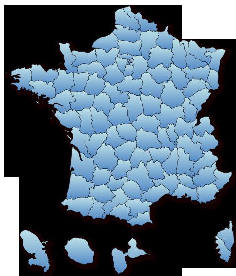 Carte des festivals